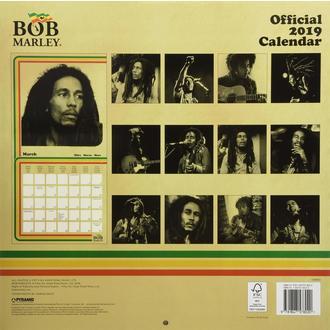 Kalendar za godinu 2019. BOB MARLEY, NNM, Bob Marley