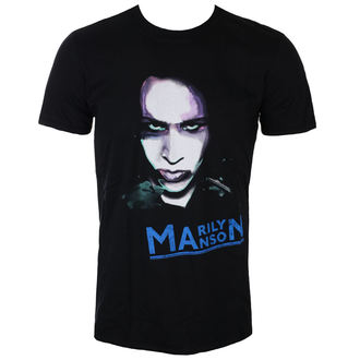 Majica metal muška Marilyn Manson - Oversaturated Photo - ROCK OFF - MMTS04MB