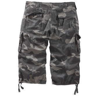 kratke hlače 3/4 muške SURPLUS - TROOPER LEGEND - BLACK CAMO, SURPLUS