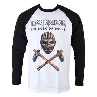 Majica muška dugi rukav Iron Maiden - Axe - Raglan Baseball - ROCK OFF, ROCK OFF, Iron Maiden