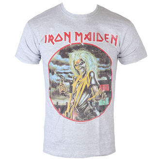 Majica muška Iron Maiden - Killers - Cirlcle - Siva - ROCK OFF, ROCK OFF, Iron Maiden