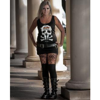 Majica bez rukava ženska Metalshop - Crno, METALSHOP