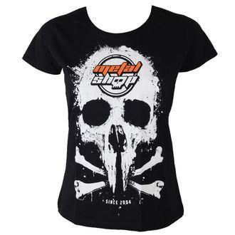 Majica ženska Metalshop - Crno, METALSHOP