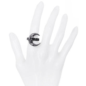 prsten Restyle - Skull Mjesec Srebro, RESTYLE