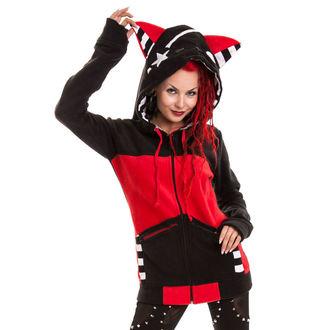 Majica ženska POIZEN INDUSTRIES - Zvjezdica Mače - Black / Red, BYE BYE KITTY