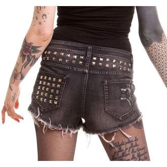 kratke hlače žensko VIXXSIN - Razer - Crno, VIXXSIN