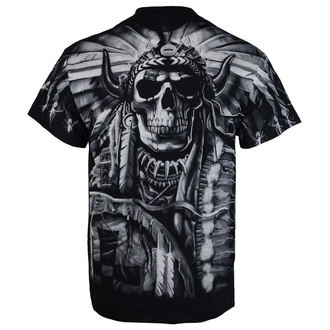 Majica muška Indian Skull - BLK - LIQUID PLAVA, LIQUID BLUE