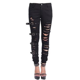 hlače žensko Devil Fashion - Gotika Haos, DEVIL FASHION