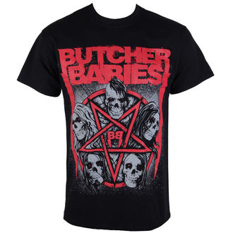 Majica muška BUTCHER BABIES - STAR Skull - RAZAMATAZ, RAZAMATAZ, Butcher Babies