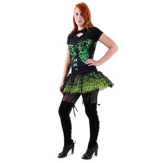 Suknja ženska VOODOO VIXEN - Zelen, JAWBREAKER