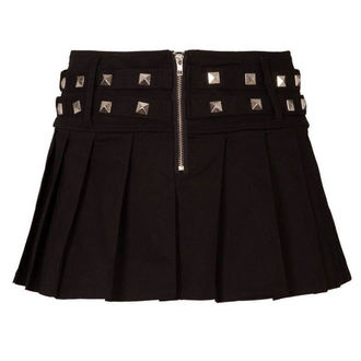 Suknja ženska VOODOO VIXEN - Crno, JAWBREAKER