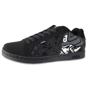 Cipele muške ETNIES - Metal Mulisha Fader - Crno / lubanje, METAL MULISHA