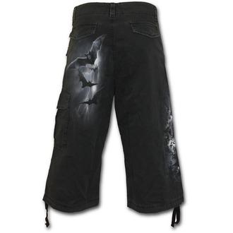 Kratke hlače muške SPIRAL - Twilight - Crno, SPIRAL