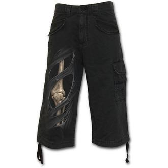 Kratke hlače muške SPIRAL - Bone Rips - Crno, SPIRAL