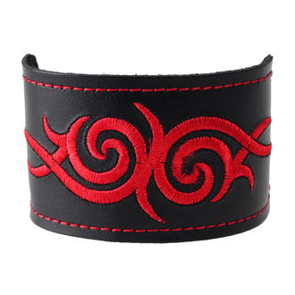 Narukvica Tribal - Crven, BLACK & METAL
