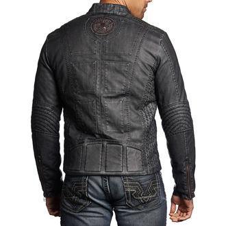 Muška jakna za proljeće/jesen AFFLICTION - Two Pistons - BK, AFFLICTION