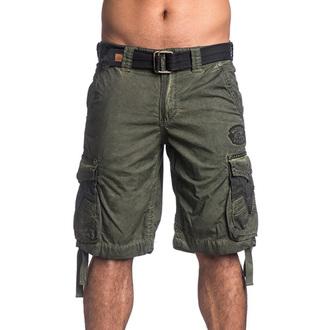 Kratke hlače muške AFFLICTION - Rusted Template - MG, AFFLICTION