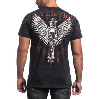 Majica muška AFFLICTION - Repost - BK, AFFLICTION