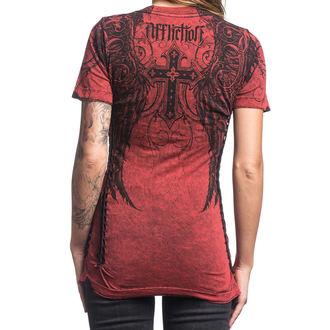 Majica kratki rukav ženska AFFLICTION - Debonair - CRLT, AFFLICTION
