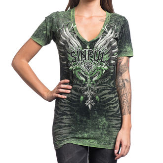 Majica ženska AFFLICTION - Sinful Undying - BBDA, AFFLICTION