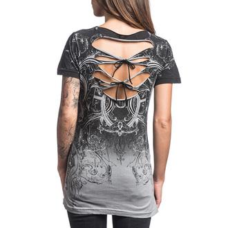 Majica kratki rukav ženska AFFLICTION - Sinful Vaudeville - HGY, AFFLICTION