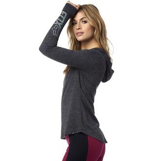 Majica ženska dugi rukav FOX - Instant - Black, FOX