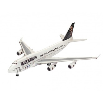 Maketa Iron Maiden - Model Kit 1/144 Boeing 747-400, Iron Maiden