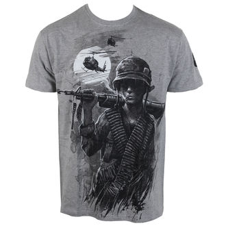 Majica muška Alistar - War is Hell - siva, ALISTAR
