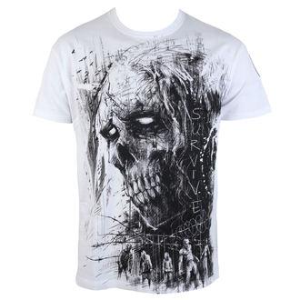 Majica muška Alistar - Zombie Survive - bijela, ALISTAR