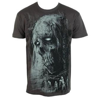 Majica muška Alistar - Zombie Survive - siva, ALISTAR