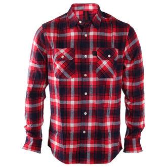 Košulja muške INDEPENDENT - Faction Red Check, INDEPENDENT