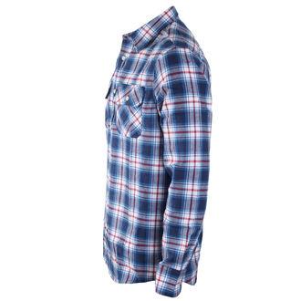 Muška košulja INDEPENDENT - Faction Blue Check, INDEPENDENT