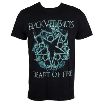 Majica muška Black Veil Brides - Heart Of Fire - Black - LIVE NATION, LIVE NATION, Black Veil Brides
