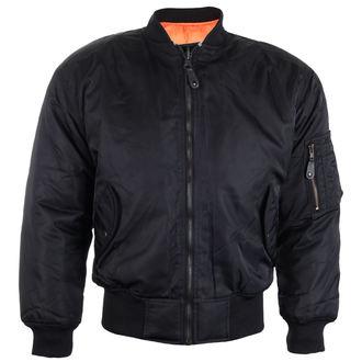 Muška jakna za proljeće / jesen OSX - MA 1 FLIGHT - TEKSTIL (CRNA), OSX