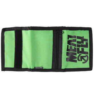 Novčanik MEATFLY - Nightcall - C - Green, Black, MEATFLY