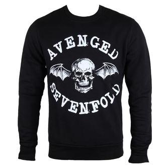 Majica muška dugi rukav Avenged Sevenfold - Classic Deathbat - ROCK OFF, ROCK OFF, Avenged Sevenfold