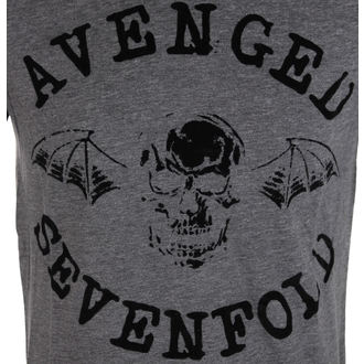 Majica muška Avenged Sevenfold - Classic Deathbat Acid Wash - ROCK OFF, ROCK OFF, Avenged Sevenfold