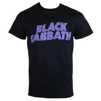 Majica muška Black Sabbath - Wavy Logo - ROCK OFF, ROCK OFF, Black Sabbath