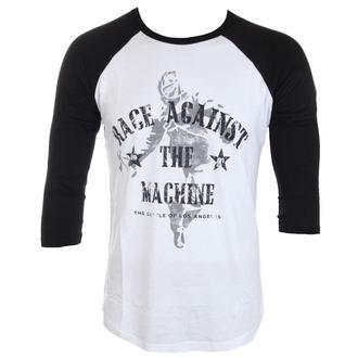 Majica muška Rage Against The Machine - Battle - White / Black - ATMOSPHERE, Rage against the machine