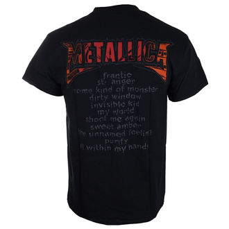 Majica muška Metallica - Anger - Black - ATMOSPHERE, NNM, Metallica