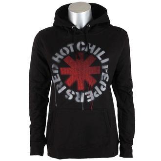 Majica s kapuljačom ženska Red Hot Chili Peppers - Stencil Asterisk - Black - ATMOSPHERE, NNM, Red Hot Chili Peppers