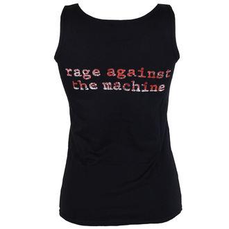 Majica bez rukava ženski Rage Against The Machine - Molotov Flag - Black - ATMOSPHERE, Rage against the machine