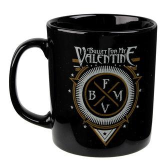 Šalica Bullet For My Valentine - Emblem - ROCK OFF, ROCK OFF, Bullet For my Valentine