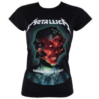 Majica ženska Metallica - Hardwired Album Cover - ATMOSPHERE, Metallica