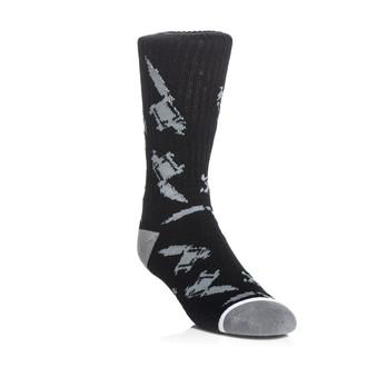 Čarape SULLEN - Machined - Crna / siva, SULLEN