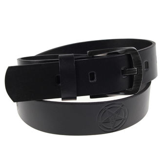 Pojas BAFOMETU - Black, JM LEATHER