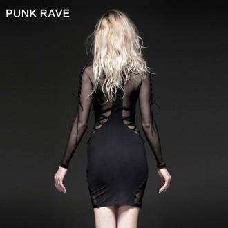 Ženska haljina PUNK RAVE - Fatal Kiss, PUNK RAVE