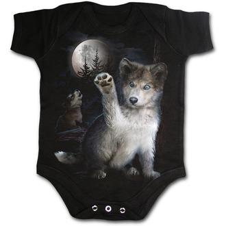 Dječji bodi SPIRAL - WOLF PUPPY, SPIRAL