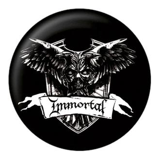 Bedž Immortal - Crest - NUCLEAR BLAST, NUCLEAR BLAST, Immortal