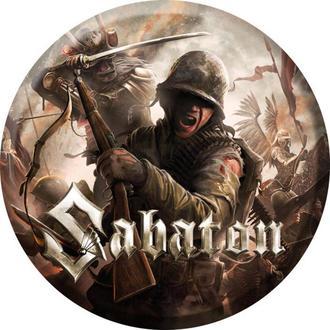 Bedž Sabaton - The last stand - NUCLEAR BLAST, NUCLEAR BLAST, Sabaton